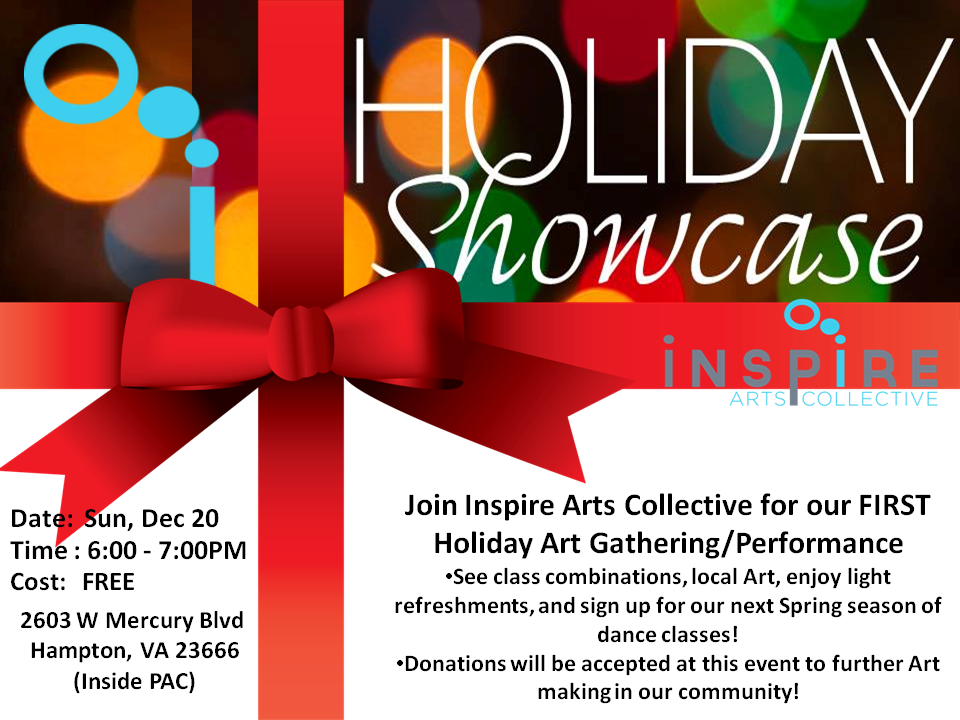 inspire holiday showcase